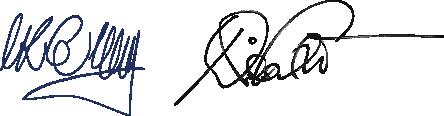 Unterschriften Erharts