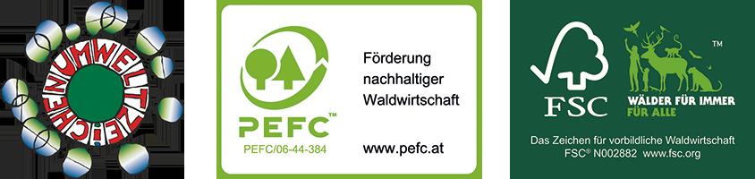 EC&C Erhart PEFC FSC Support