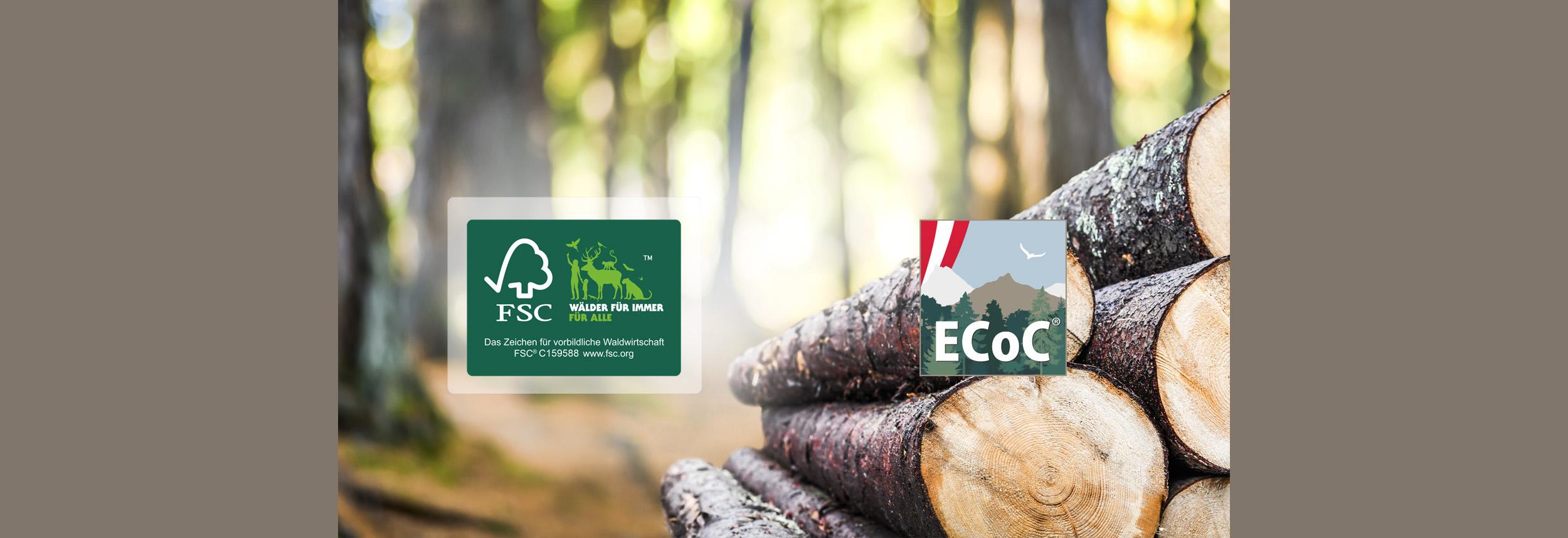 ECoC FSC Gruppenzertifizierung