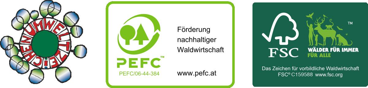 ECoC Erhart FSC und PEFC Gruppen